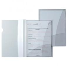 Cartelline con tasche Capri 69/2 - PVC - 21 x 29,7 cm - cristallo - Sei Rota - conf. 5 pezzi