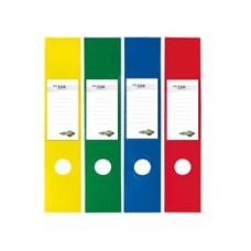 Copridorso CDR - PVC adesivo - 7 x 34,5 cm - rosso - Sei Rota - conf. 10 pezzi