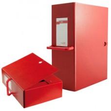 Scatola archivio Big 120 - con maniglia - dorso 12 cm - 25 x 35 cm - rosso - Sei Rota