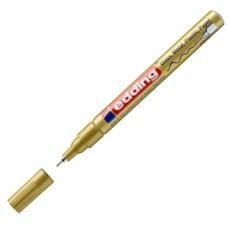 Marcatore 780 - punta 0,8 mm - oro - Edding