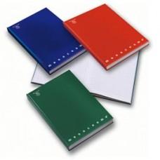 Quaderno Monocromo - cartonato - A5 - 1 rigo - 80 gr - 60 fogli - Pigna