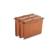 Cartella sospesa - cassetto Ultimate  - interasse 39 cm - fondo V - legale 37,2x25 cm - avana - Elba