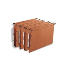 Cartella sospesa - armadio Ultimate  - interasse 33 cm - fondo U 30 mm - 32,5x27,5 cm - avana - Elba
