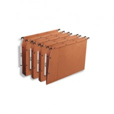 Cartella sospesa - armadio Ultimate  - interasse 33 cm - fondo U 50 mm - 32,5x27,5 cm - avana - Elba