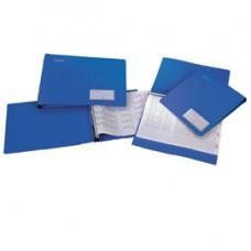 Portatabulati ad aghi Mec Data - 12''x28cm - azzurro - King Mec