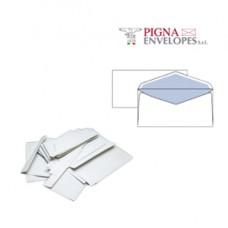 Busta bianca senza finestra - serie Leyla - 110x230 mm - 70 gr - Pigna - conf. 25 pezzi
