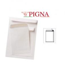 Busta a sacco bianca - serie Competitor - certificazione FSC - strip adesivo - 190 x 260 mm - 80 gr - Pigna - conf. 500 pezzi