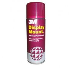 Adesivo Spray Display Mount - 400 ml - trasparente - 3M