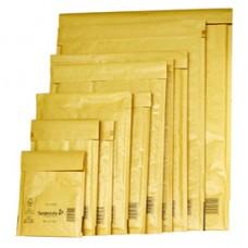 Busta imbottita Mail Lite  Gold - formato B (12x21 cm) - avana - Sealed Air  - conf. 10 pezzi