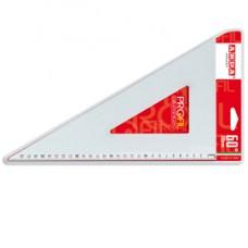 Squadra linea Profil - alluminio - 60gradi - 30cm - Arda