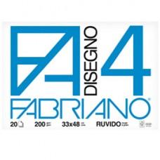Album F4 - 33x48cm - 220gr - 20 fogli - ruvido - Fabriano