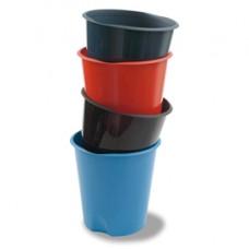 Cestino gettacarte E020 Modula - altezza 32,5 cm - diametro 31 cm - 16,5 lt - azzurro - Fellowes