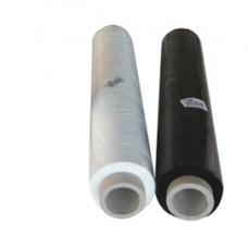 Film estensibile per imballaggi - altezza 50 cm - 20/23 micron - 2,4 kg - trasparente - Viva - rotolo da 250 mt circa