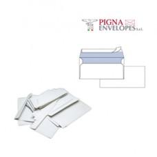 Busta bianca senza finestra - serie Edera Strip - 110 x 230 mm - 90 gr - Pigna - conf. 500 pezzi