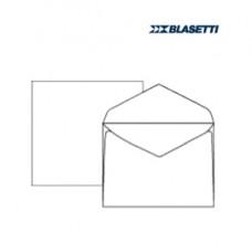 Busta bianca extrafine - serie Campidoglio - lembo gommato - 120x180 mm - 100 gr - Blasetti - conf. 500 pezzi