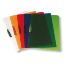 Cartellina con molla Clipper - 22 x 30 cm - trasparente neutro - Fellowes
