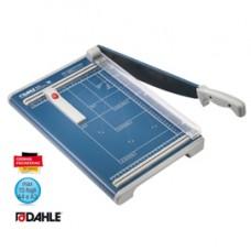 Taglierina a leva 533 - 340 mm (A4) - capacitA' taglio 15 fg - 450x285 mm - blu - Dahle