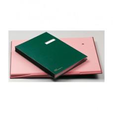 Libro firma - 14 intercalari rinforzati - 24x34 cm - verde - Fraschini