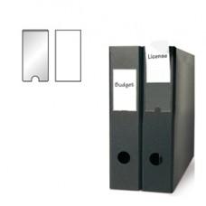 Portaetichette adesivo - PPL - 46x75 mm - trasparente - 3L - conf. 6 pezzi