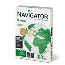 Carta Universal - A4 - 80 gr - bianco - Navigator - conf.  500 fogli (ordine drop max 25 risme)