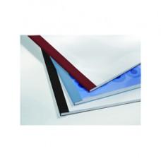 Cartelline termiche Business Line - 4 mm - leather rosso - GBC - scatola 100 pezzi