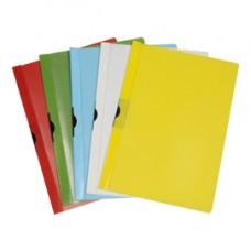 Cartellina con molla Spring File - PVC - 22x31 cm - dorso 5 mm - bianco - Methodo