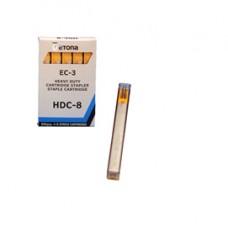 Caricatore HDC8 per Etona EC3 - 210 punti - giallo - Etona - conf. 5 pezzi