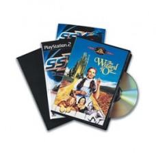 Custodia per DVD singolo - nero - Fellowes - scatola 5 pezzi