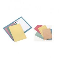Cartelline semplici - con stampa - cartoncino Manilla 145 gr - 25x34 cm - rosso - Cartotecnica del Garda - conf. 100 pezzi