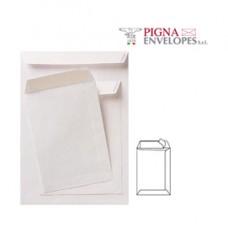 Busta a sacco bianca - serie Competitor - certificazione FSC - strip adesivo - 160 x 230 mm - 80 gr - Pigna - conf. 500 pezzi