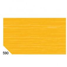 Carta crespa - 50x250cm - 60gr - arancio 590 - Rex Sadoch - conf.10 rotoli