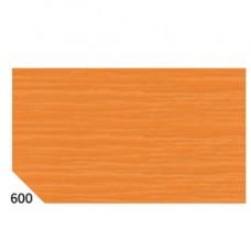 Carta crespa - 50x250cm - 60gr - arancione 600 - Sadoch - conf.10 rotoli