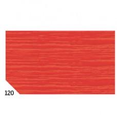 Carta crespa - 50x250cm - 60gr - rosso 120 - Rex Sadoch - conf.10 rotoli
