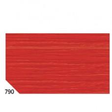 Carta crespa - 50x250cm - 60gr - rosso ciliegia 790 - Rex Sadoch - conf.10 rotoli