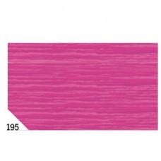 Carta crespa - 50x250cm - 60gr - fucsia 195 - Rex Sadoch - conf. 10 rotoli