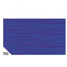 Carta crespa - 50x250cm - 60gr - blu 700 - Rex Sadoch - conf.10 rotoli