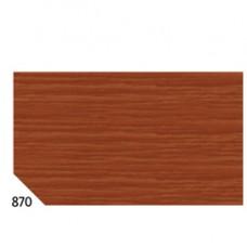 Carta crespa - 50x250cm - 60gr - marrone 870 - Rex Sadoch - conf.10 rotoli