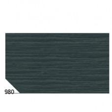 Carta crespa - 50x250cm - 60gr - nero 980 - Sadoch - conf. 10 rotoli