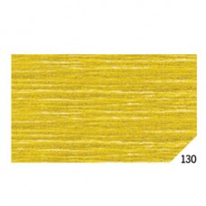 Carta crespa - 50x150cm - oro metal 130 - Rex Sadoch - conf.10 rotoli