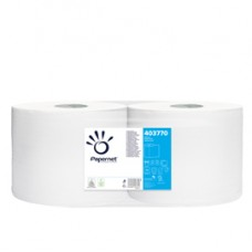 Bobina asciugatutto Special 800 - 2 veli - goffratura a onda - 20 gr - diametro 27,5 cm - 25,7 cm x 241 mt - bianco - Papernet