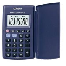 Calcolatrice tascabile HL-820VER - 8 cifre - blu - Casio
