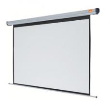 Schermo elettrico per proiezione a parete - Plug  Play - 120x160 cm - diagonale 200 cm - Nobo