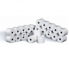 Rotolo per calcolatrici - cellulosa - 60 mm x 28 mt - diametro esterno 58 mm - 55 gr - anima 12 mm - Rotomar - blister 10 pezzi