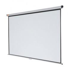Schermo di proiezione da parete - formato 4:3 - 200x151 cm - Nobo
