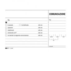 Blocco comunicazioni telefoniche - uso mano - 9,9 x 17cm - 100 fogli - Edipro