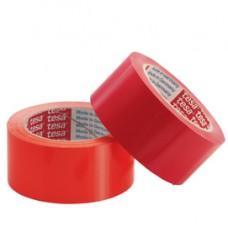 Nastro adesivo - PVC - 50 mm x 66 mt - rosso - Tesa