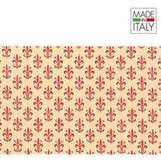 Rotolo Cartarivesto Rex 58 - 50x500 cm - lavabile - giglio rosso - Rex Sadoch