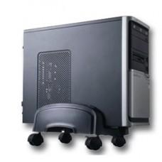 Porta CPU con ruote PC201 - nero - Tecnostyl