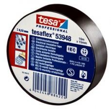 Nastro adesivo isolante - professionale - 10 m x 15 mm - nero - Tesa