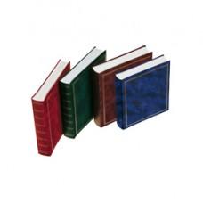 Album portafoto in vinile - verde - 30 x 33cm - 50fg - fogli in cartoncino con velina - Lebez